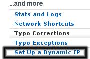 """Setup a dynamic IP"""