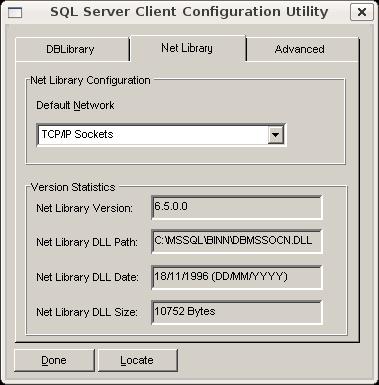 Configurando NetLibrary