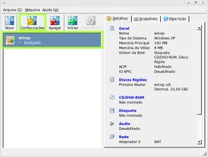 Configurando a VM